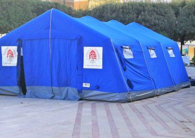 Tenda Protezione Civile